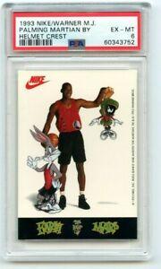 Michael Jordan PSA 1993 Nike Warner Brothers Space Jam Palming Martians PSA 6