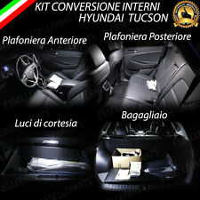 KIT FULL LED INTERNI HYUNDAI TUCSON CONVERSIONE COMPLETA 6000K