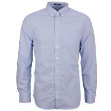Gant Men's Shirt Casual Shirt Blue White Polka Dot 3008130 420
