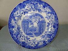 Harvard University Plate Holden Chapel Wedgwood England