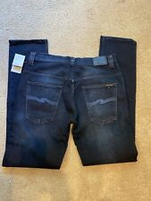 Nudie Jeans 34x34 Thin Finn  New With Tag Blue