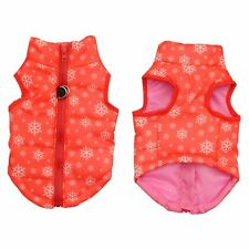 Winter Puppy Pet Dogs Warm Vest Harness Coat Apparel Jacket Clothes Costumes New