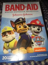 Paw Patrol Band Aids Bandages 20 In pack 3 picture kids 2 Sizes Puppies Pictures