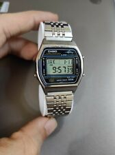 Casio W36 Marlin (Rare yellow dots version)-1980 - All stainless steel