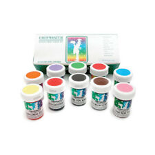 Chefmaster Food Coloring Kit:  1-Ounce - Pack of 10