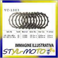 KIT DISCHI FRIZIONE SUGHERO VESRAH CB 1000 R Non ABS Model 1000 2010