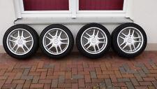 Alufelgen AZEV E 8,5Jx17H2 und 10Jx17H2 inkl. Distanzscheiben und neuen Reifen