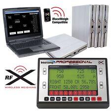 Intercomp Microflex Professional Wireless Computer Car Corner Weight Scales