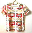 Mickey Mouse in a can printed tshirt
