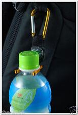 Aluminum Carabiner Clip Water Bottle Holder Camping Snap Hook Key Chain