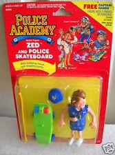 #7595 NRFC Vintage Kenner Police Academy Zed with Police Skateboard