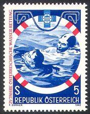 Austria 1982 SALVAVITA/Nuoto/Rescue/Sicurezza/Di Emergenza 1 V (n25522)