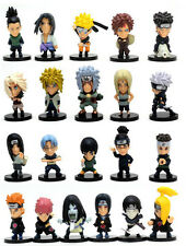 Anime Naruto Shippuden Pedia Heroes Set 21 pieces Toy Figure Doll 4cm new
