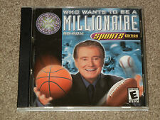 Who Wants To Be A Millionaire? Sports Edition  (Mac, 2000, Video Game, Trivia)