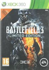 Battlefield 3 Limited Edition Microsoft Xbox 360 16+ FPS Shooter Game