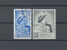 More details for bechuanaland 1948 sg 136/37 rsw used cat £50.10