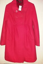 red winter coat size 12