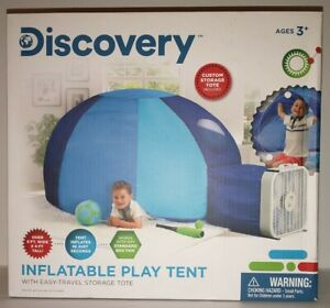 Discovery Inflatable Play Tent With Easy-Travel Storage Tote