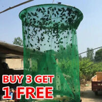 Pest Control Fly Insect Trap Reusable Hanging Folding Catcher Net Killer Cage AA