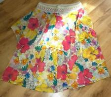 Chiffon Hippy, Boho Casual Plus Size Skirts for Women