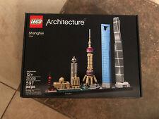 Lego Architecture Shanghai | #21039 | 597 pcs