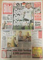 BILD Zeitung 22.06.2016 - DEUTSCHLAND - NORDIRLAND 1:0 -Europameisterschaft 2016