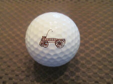 Logo Golf Ball-Washburn-Garfield Company.Vintage.Cool Wagon Logo