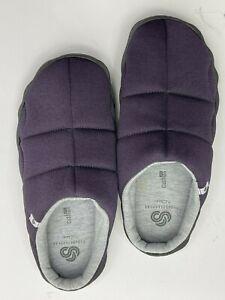 Clarks Step Rest Clog Cloudsteppers Purple Hard Sole Slipper Size 7