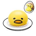 Lazy Gudetama Vomiting Egg Tricky Toy Yolk Can Be Eaten Back Shocker Joke Gift