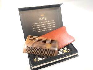 No 1 Beard And Hair Comb 100% Natural Wood by Hundred Beard Company
