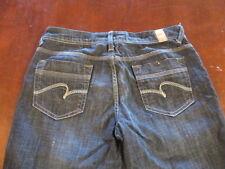 Women's Maurices blue denim jeans 9/10 reg  W 32 X L 33 Morgan New Boot