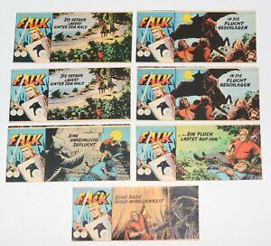 7x Falk Piccolo ( Nr. 2x 66,  67, 2x 70, 71 und 134 ) - original Lehning Verlag