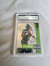 2012 Topps Finest Russell Wilson RC Auto #140 PSA Authentic Autograph Seahawks