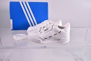 adidas Originals Toddler's Continental 80 Pull-On Sneakers EG4347 White/Pink