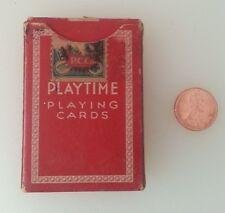 Mini Playtime Playing Cards US Playing Card Co. Cincinnati, USA