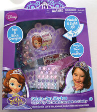 Disney, SOFIA the FIRST, Stick-on Styles, Light up Tiara & Bracelet Activity