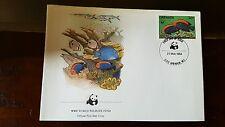 WWF World Wildlife Fund Official First Day Cover stamp Briefmarke Grenada 1984