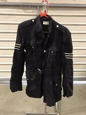 Ex Hire Fancy Dress Costume - Unisex Police Coat With Stripes On Arm Size Small