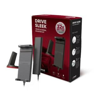 weBoost Drive Sleek Cradle Mount Cell Signal Booster for Car, Truck and RV
