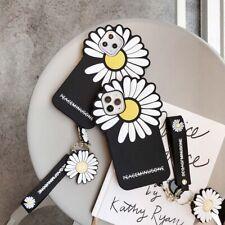 3D GD Daisy Flower Cartoon Fashion Creative Phone Case Cover For iPhone11Pro XR