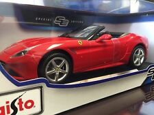 Maisto 1:18 Scale Diecast Model Car - Ferrari California T Convertible (Red)