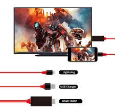 Câble HDMI Convertisseur Audio Vidéo pour iPhone et iPad - Neuf