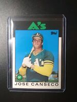 1986 Topps Traded Jose Canseco Oakland Athletics 20T Rookie Rc A's