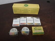 - Hydralk Hydrion Papers Lab pH Papers Tester LOT Varying Ranges LOTS OF PICS