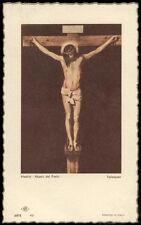 "santino-holy card""""ediz. NB serie ARTE  n.49 GESU'"
