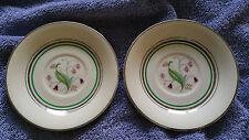 "Vintage Old Ivory Coralbel 5"" Saucers - Syracuse - Bone China - Beautiful!"