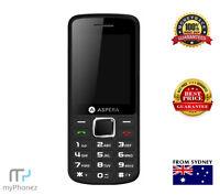Brand New Aspera F26 (3G, Keypad) Black - Camera Cheap Phone [Au Stock] Unlocked