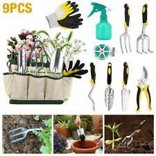 More details for 10pcs gardening tools set gift garden hand tool kit diy non slip ergonomic