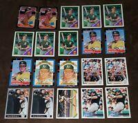 1987 - 1996 Donruss Diamond King Topps Upper Deck Leaf Mark McGwire 20 Card Lot