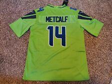 DK Metcalf #14 Seattle Seahawks Vapor Untouchable Color RUSH Jersey Men's 3XL